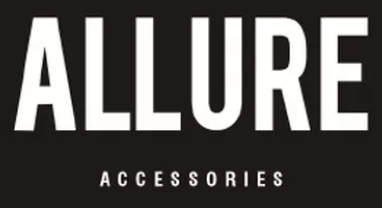 Allure Accessories logo for mobile desktop