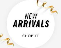 New arrivals collection banner