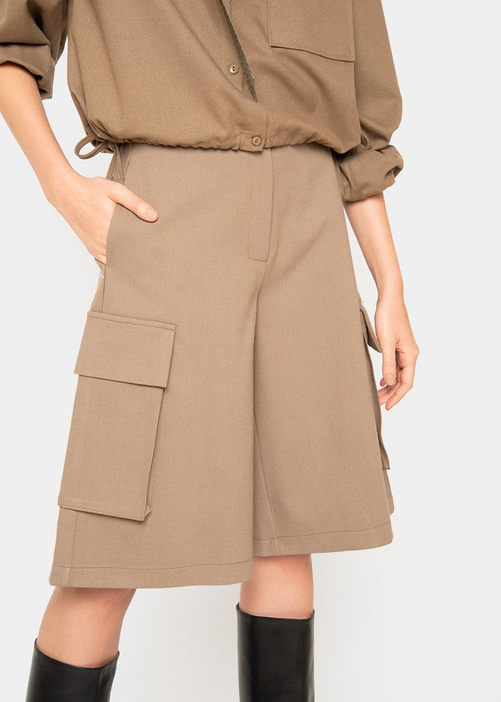 Patch Pocket Trouser Shorts