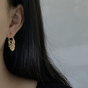 Load image into Gallery viewer, Harper foil earring