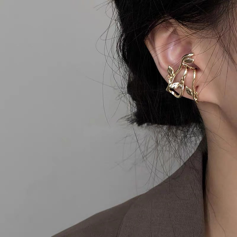 Load image into Gallery viewer, Adalynn rose vien earring