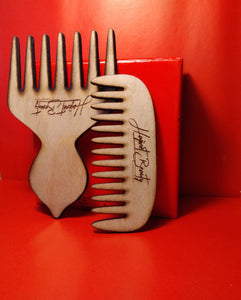 Afro Pick & Mini Comb Set