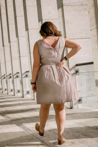 100% Silk Vintage Suzy Dress - S and M