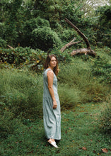 Load image into Gallery viewer, Handwoven Bina Maxi Dress in Light Blue