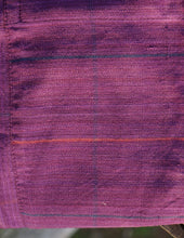 Load image into Gallery viewer, Handwoven Cotton Dilsi Overalls in Plum