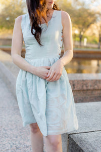 Recycled Flour Sack Lucy Dress