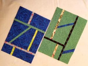 Pieced panels
