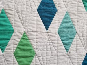 Color and Clarity Quilt detail