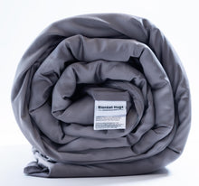 Load image into Gallery viewer, The Blanket Hug - Weighted Blanket with Bamboo-Cotton Duvet Cover by Blanket Hugs.