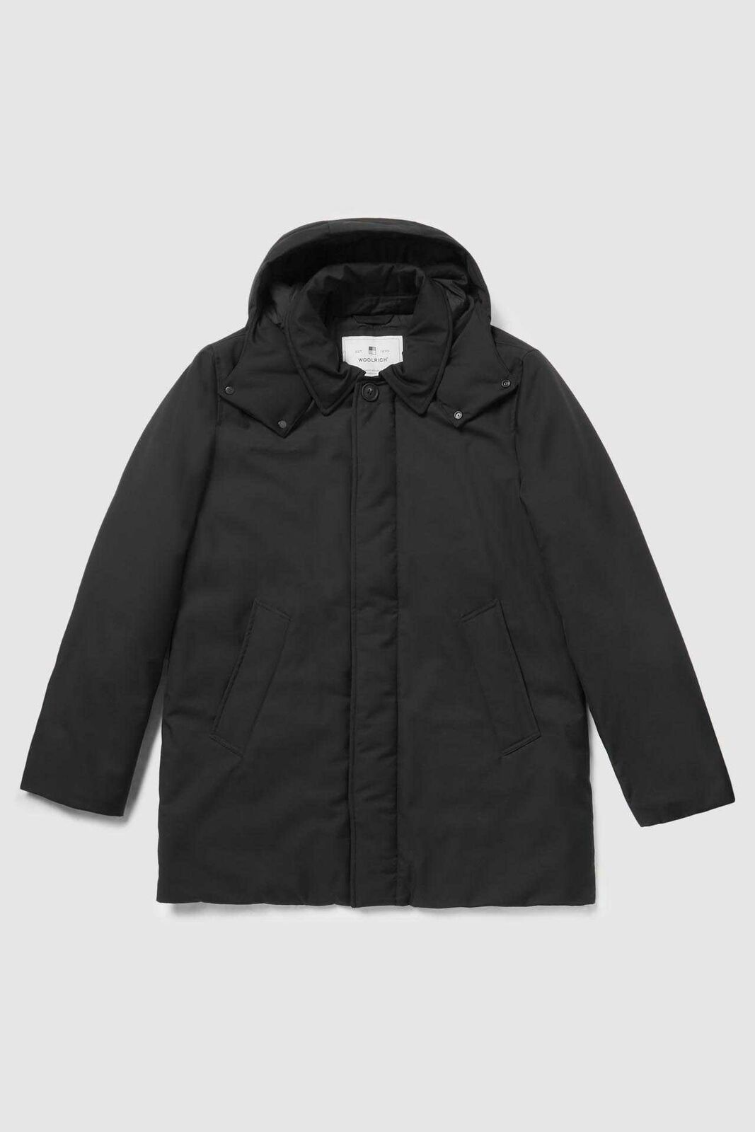 PARKA UOMO-WOOLRICH-WOOU0258MR-BARROW MAC-BLACK