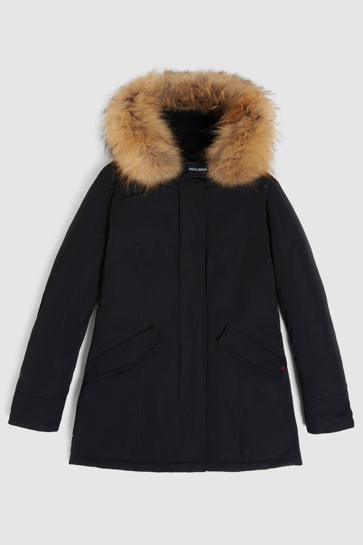 PARKA DONNA-WOOLRICH-LUXURY ARTIC-WWOU0296FR-NERO