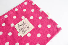 Load image into Gallery viewer, Beach Bag | Pink Polka Dots