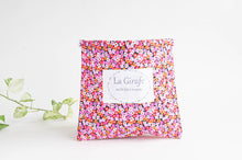Load image into Gallery viewer, Beach Bag | Pink Flowers & Leaves