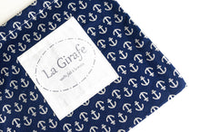Load image into Gallery viewer, Beach Bag | Navy Anchors