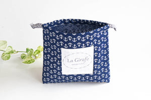 Beach Bag | Navy Anchors
