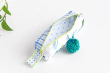 Load image into Gallery viewer, Pencil Case | Green Pattern