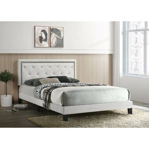 Passion White Bed - Unique Furniture