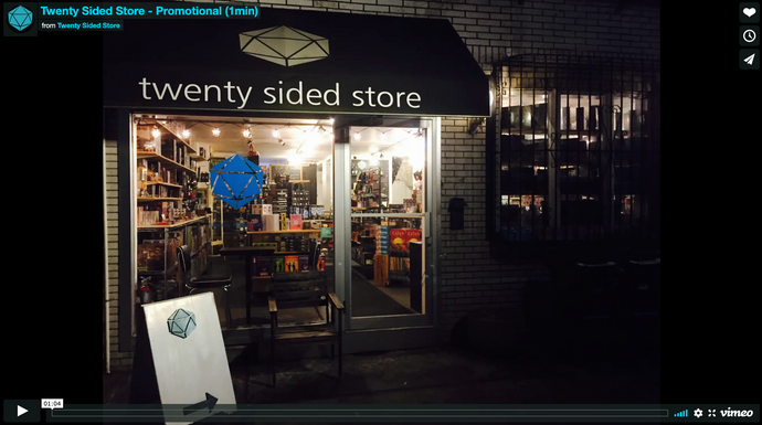 Twenty Sided Store | Promo