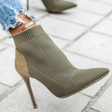 Vidiashoes Slip On Elastic Boots