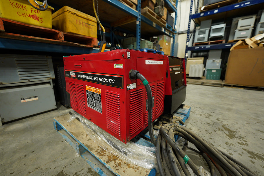 Lincoln Electric Power Wave 655 Robotic Welder