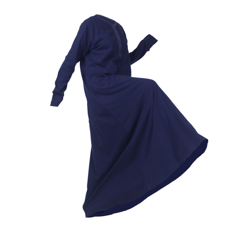 Fathna Basic Dress Navy