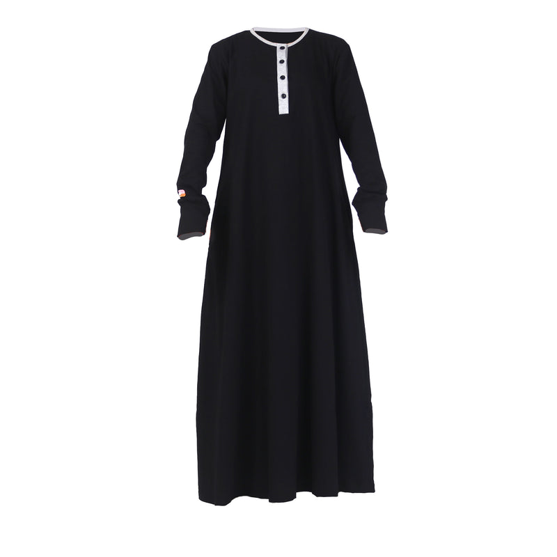 Fathna Basic Dress Black