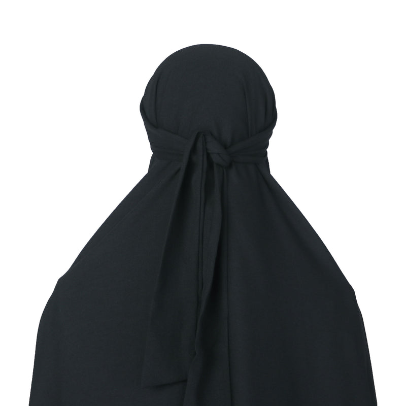 Afsheen French Khimar Black