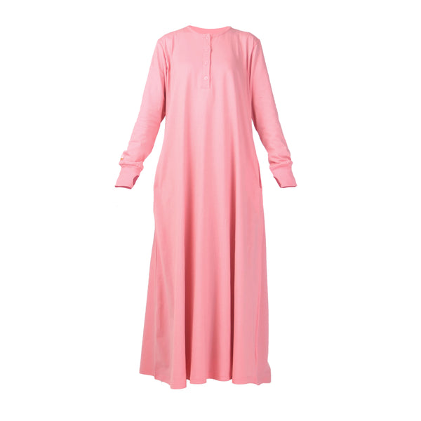 Fathna Basic Dress Bubblegum