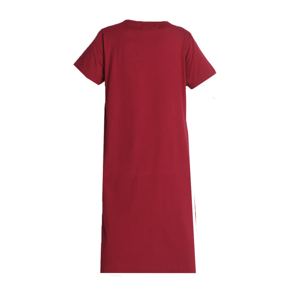 Benazir Homedress Maroon