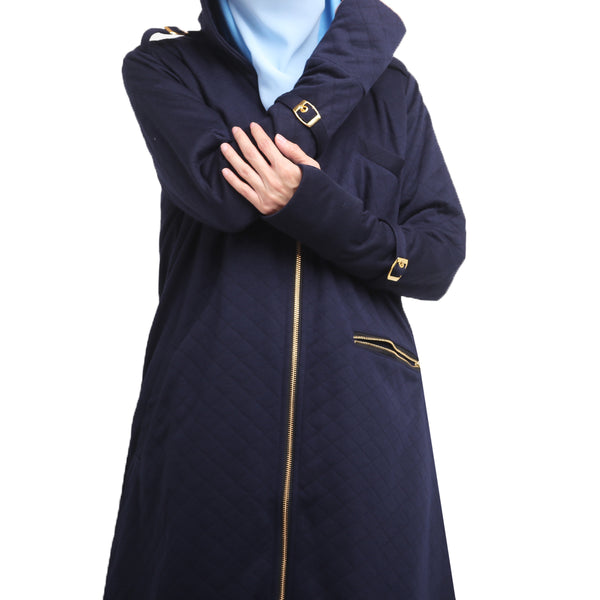 Medinna Long Jacket Medieval Blue