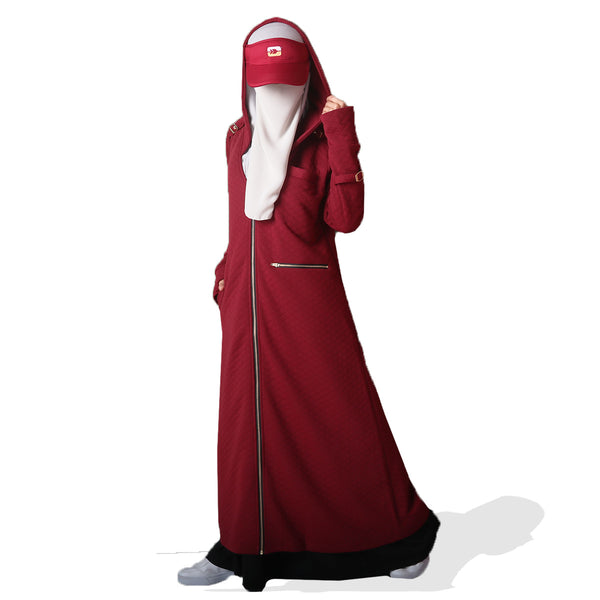 Medinna Long Jacket Rumba Red