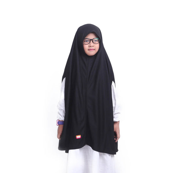 Kheva Khimar Kids Black