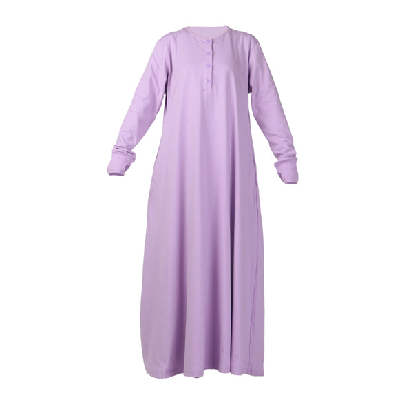 Fathna Basic Dress Lilac