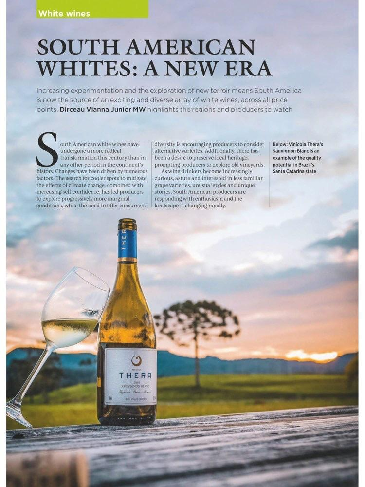 Thera Sauvignon Blanc é destque na Revista Decanter