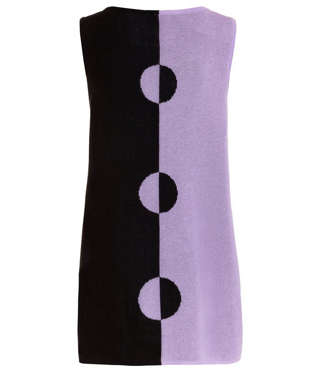 "TINA HARF LONDON | Dress Tina ""Circles"" 