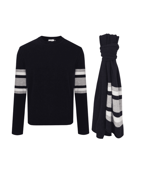 Constantin Sweater & Cliff Scarf Combo Christmas Combo THE GUESTLIST