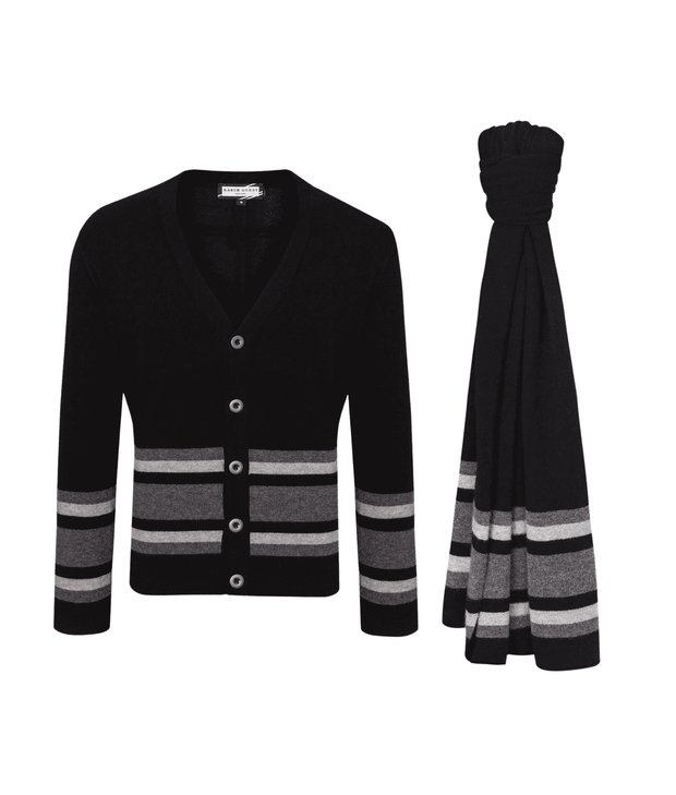 Carver Sweater & Carlton Scarf Combo Christmas Combo THE GUESTLIST