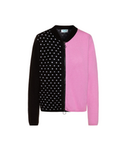 TINA HARF LONDON | Cashmere Zip Jacket Pippa | Pink - The Guestlist
