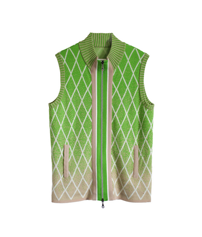 Linus Vest | Green Vest THE GUESTLIST
