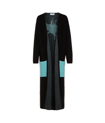 "TINA HARF LONDON | Pia Cashmere Cardigan ""Splash"" 