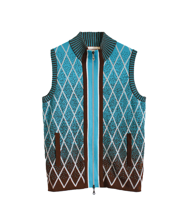 Linus Vest | Blue Vest THE GUESTLIST