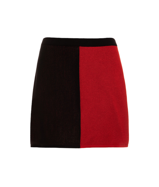 TINA HARF LONDON | Lisa Skirt | Mini | Black & Red - The Guestlist