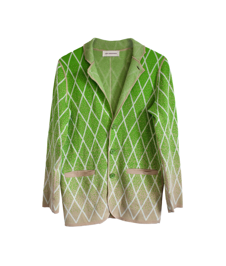 LINUS LEONARDSSON | Linus Blazer | Green - The Guestlist