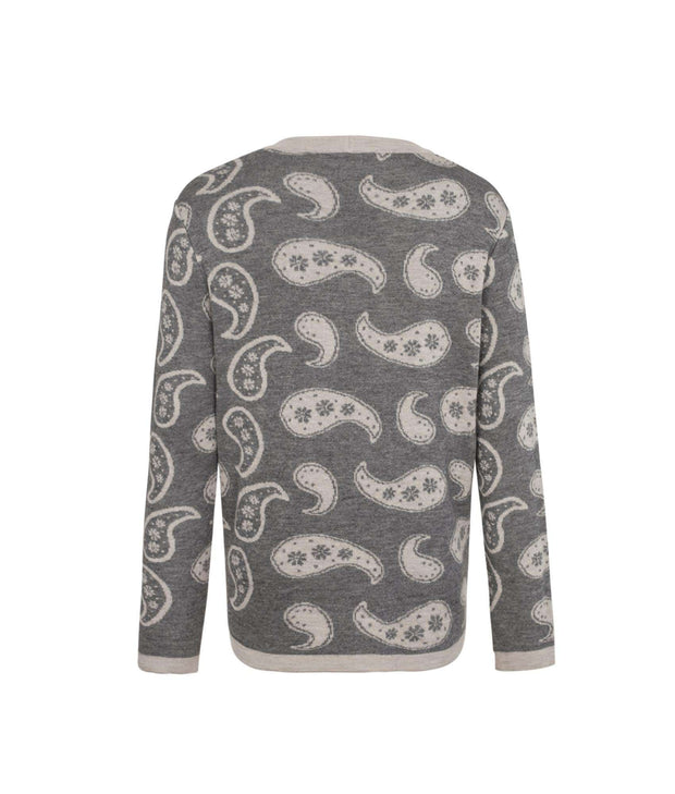 THE GUESTLIST by MR HALPERN LA | Titus V-Neck Cardigan - The Guestlist