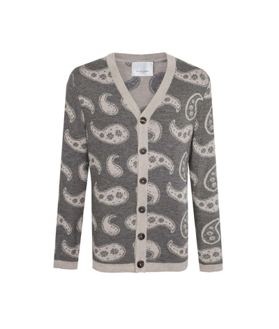 THE GUESTLIST by MR HALPERN LA | Titus V-Neck Cardigan Cardigan THE GUESTLIST