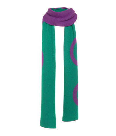 Tina Harf London The Target Scarf in Cashmere