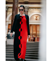 "Tina ""Circles"" Maxi Dress 