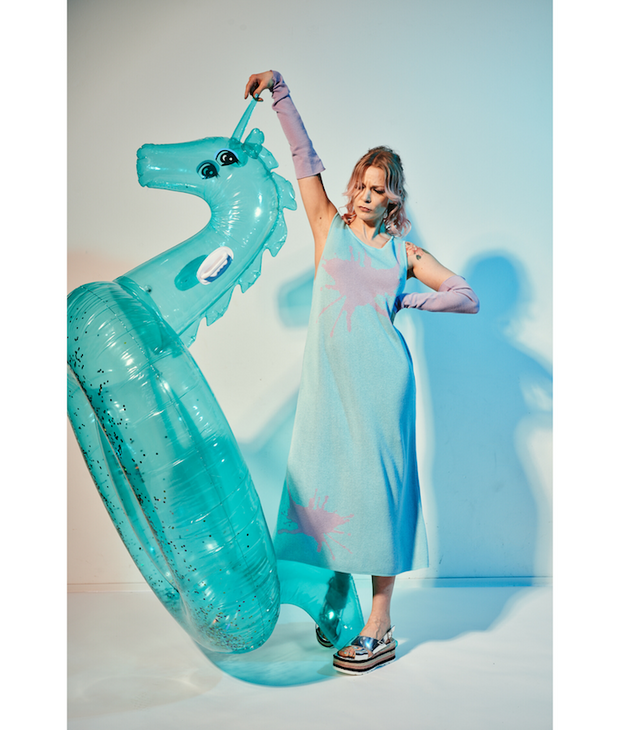 "Tina ""Splash"" Midi Dress Dress THE GUESTLIST"
