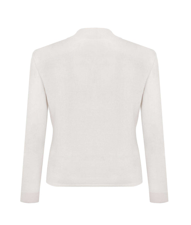 JENNIFER JOANOU New York | Vandam Mock Neck Sweater - The Guestlist