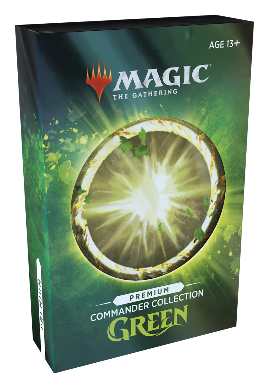 Commander Collection: Green Premium Edition Foil | Alara Games AB